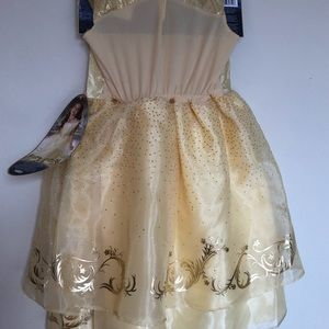 Disney Beauty and the Beast Belle Costume Dress Si